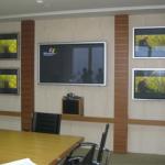 ติดตั้งVideo Conference จอมอนิเตอร์ และระบบควบคุมห้องห้องประชุม