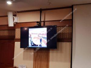 ติดตั้ง Video Conference และจอมอนิเตอร์