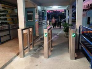 ติดตั้งประตูเข้า-ออกอัตโนมัติ Gate Control